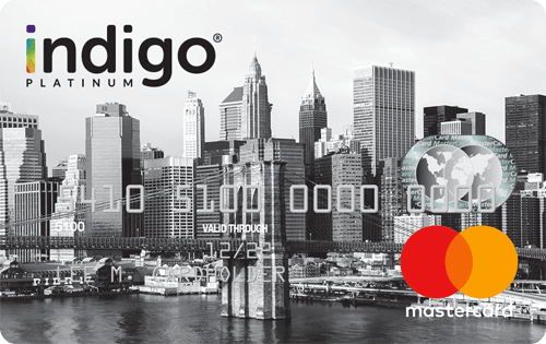 Indigo Mastercard for Less than Perfect Credit Image