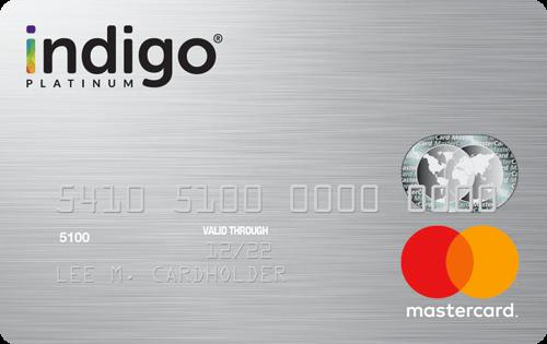 Indigo Platinum MasterCard Image