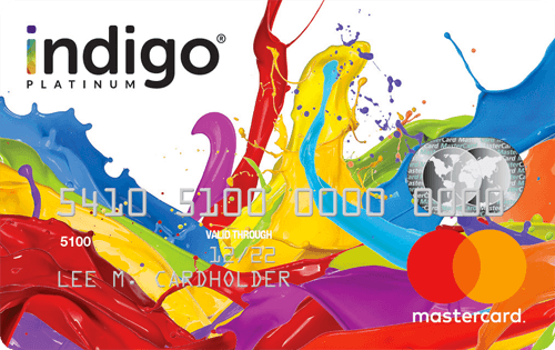 Indigo Mastercard with Fast Pre-Qualification Image