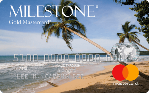Milestone Mastercard with Free Choice of Card Image