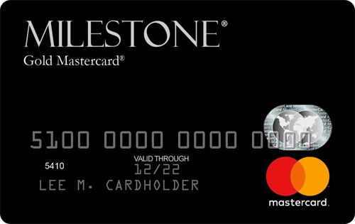 Milestone Gold MasterCard Image